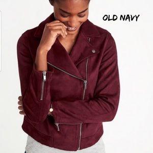 Old Navy Moto Jacket Petite XL